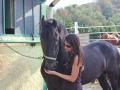 Lago di Como a cavallo