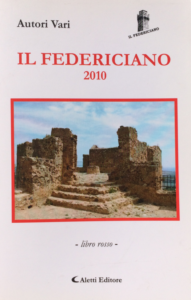 Book Cover: Il Federiciano